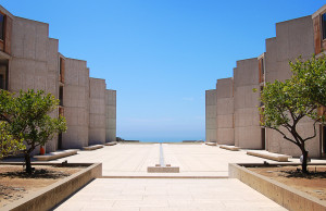Figure 3: The Salk Institute, La Jolla California (1959-1966)