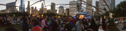 Concert for Chicago at the Pritzker Pavilion