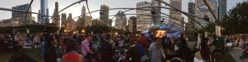 Concert for Chicago at the Pritzker Pavilion