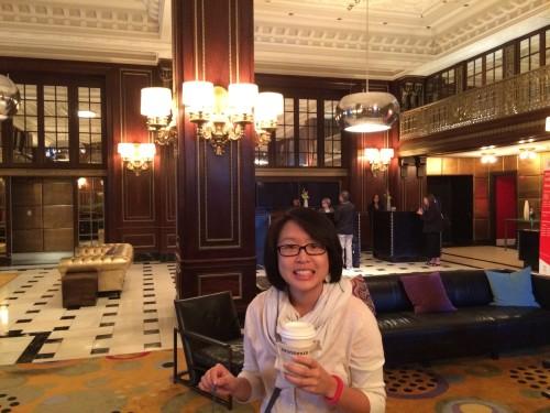 Lobby of the Blackstone Renaissance