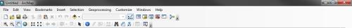 Default ArcMap toolbars