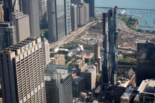 Grant Park, as seen from the Skydeck