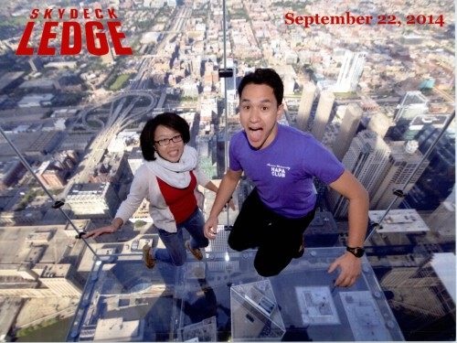 The Skydeck Ledge at the Willis/Sears Tower